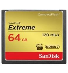 Sandisk CF 64 GB Extreme (120MB/s)