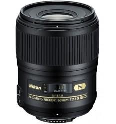 Nikon objektiv AF-S 60 mm f/2.8G ED Micro