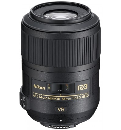 Nikon objektiv AF-S DX Micro 85 mm f/3.5G ED VR