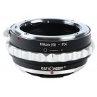 Mount adapter Nikon AF - Fuji X