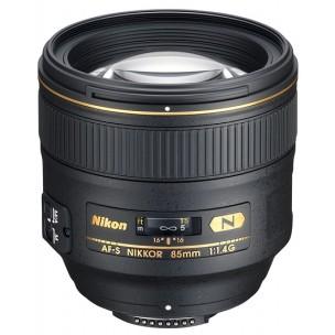 Nikon objektiv AF-S 85 mm f/1,4G