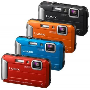Panasonic Lumix FT30 + mini stativ