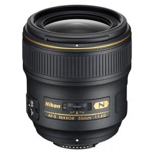 Nikon objektiv 35 mm AF-S F/1,4 G