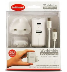 Hahnel Worldwode DUO polnilnik (USB-C)