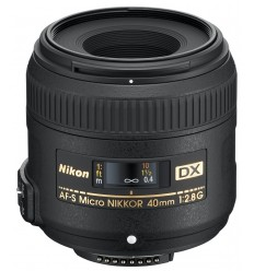 Nikon objektiv AF-S DX Micro 40 mm f/2,8 G