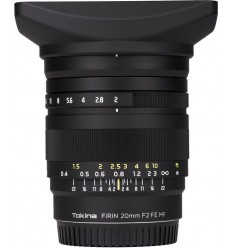Tokina objektiv 20 F/2 FE MF (Sony E) Firin