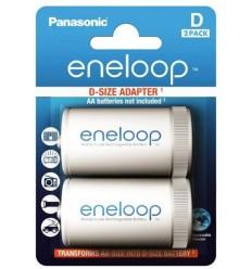 Panasonic eneloop D adapter (2 kosa)
