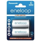 Panasonic eneloop C adapter (2 kosa)