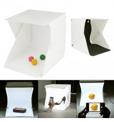 Prenosni studio z LED osvetlitvijo (30 cm)