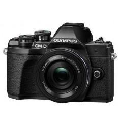 Olympus OM-D E-M10 III + 14-42 pancake (črn)