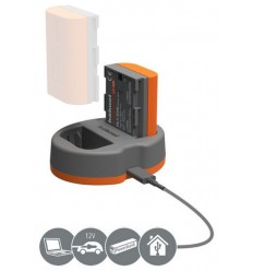 Hahnel Power Kit za Canon (polnilec za LP-E6 + dodatna baterija)