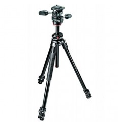Manfrotto stativ 290 DUAL + 3 WAY glava