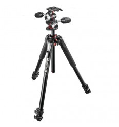 Manfrotto stativ 055 XPRO3 + 3 WAY glava MHXPRO-3W