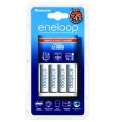 Panasonic Eneloop Quick Charger + 4x AA