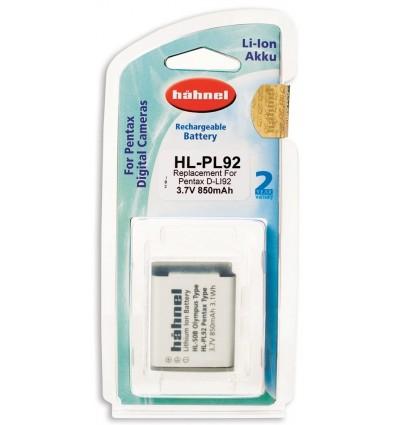 Hahnel Li-Ion baterija Pentax D-LI92 (HL-PL92)