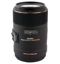 Sigma objektiv 105mm F/2,8 EX DG OS, Canon