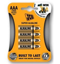 JCB alkalne baterije AAA, 4 kosi