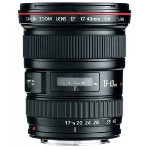 Canon objektiv EF 17-40 F/4 L USM + Lenspen