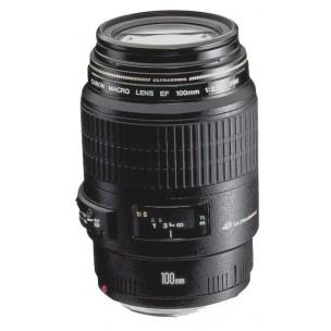 Canon objektiv EF 100 F/2,8 Makro USM + Lenspen