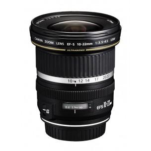 Canon objektiv EF-S 10-22 mm F/3,5-4,5 USM + Lenspen