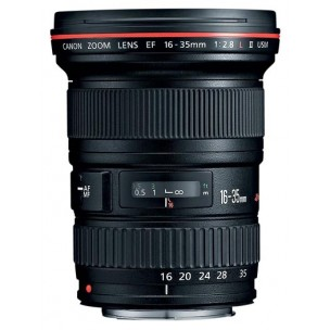 Canon objektiv EF 16-35 F/2,8 L USM II + Lenspen