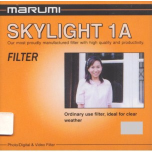 Marumi Skylight 1A filter, 55 mm