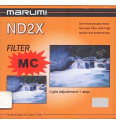 Marumi ND2X filter, 55 mm