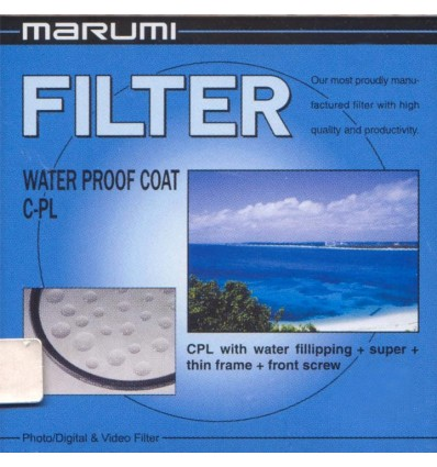 Marumi CPL filter z vodoodbojnim premazom (WPCPL), 55 mm