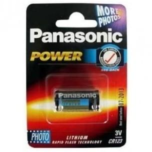 Panasonic litijeva baterija CR123 3V