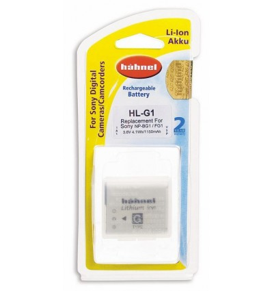 Hahnel Li-Ion baterija Sony NP-BG1 (HL-G1)