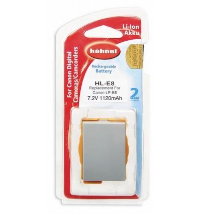Hahnel Li-Ion baterija Canon LP-E8 (HL-E8)