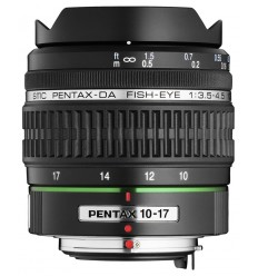Pentax objektiv smc DA 10-17 mm f/3,5-4,5 ED (IF)