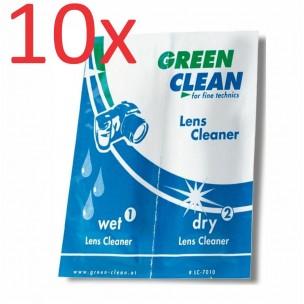 Green Clean čistilni robčki za optiko, 10 kosov
