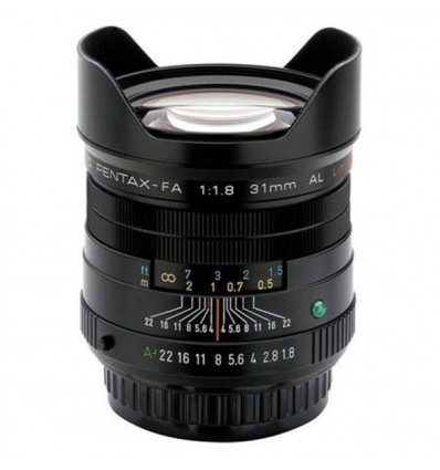 Pentax objektiv smc FA 31 mm f/1,8 AL Limited