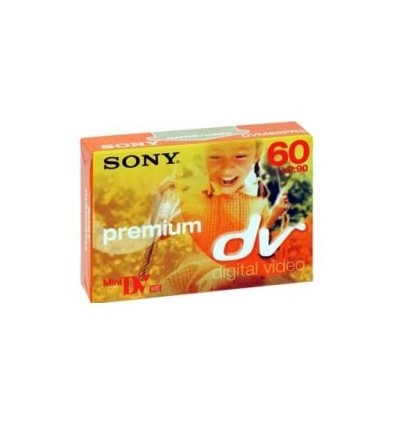 Sony kaseta MiniDV premium 60 min.