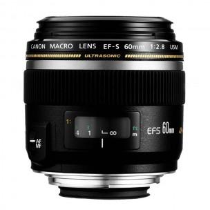 Canon objektiv EF-S 60 mm f/2.8 Macro USM + Lenspen