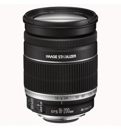 Canon objektiv EF-S 18-200 mm F/3.5-5.6 IS