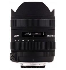 Sigma objektiv 8-16 mm F/4,5-5,6 DC HSM, Canon