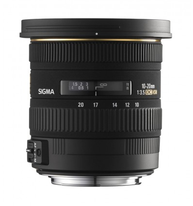 Sigma objektiv 10-20 F/3,5 EX DC HSM, Canon