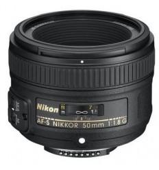Nikon objektiv AF-S 50 mm F/1,8 G