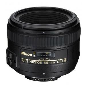 Nikon objektiv 50 mm AF-S F/1,4 G