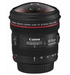 Canon objektiv EF 8-15mm f/4L Fisheye USM