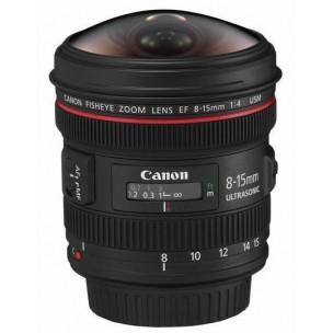 Canon objektiv EF 8-15mm f/4L Fisheye USM + Lenspen