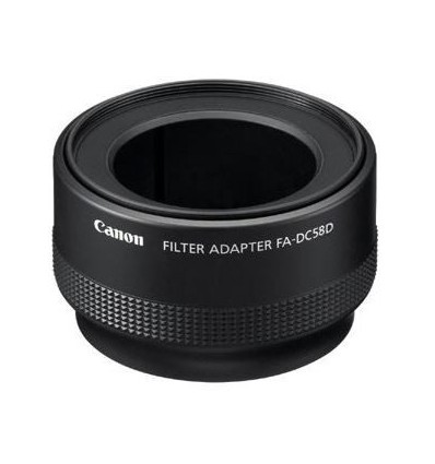 Canon filter adapter FA-DC58 D