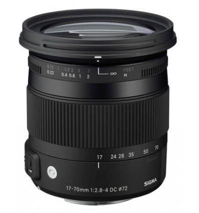 Sigma 17-70/2,8-4 DC Makro OS HSM, Canon