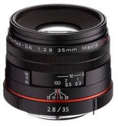Pentax objektiv HD DA 35/2,8 Macro Limited