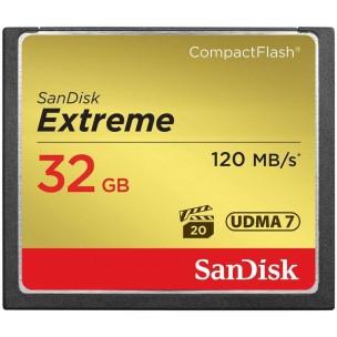 Sandisk CF 32 GB Extreme (120MB/s)