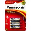 Panasonic baterije AAA (4 kosi)