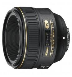 Nikon obj. 58 mm F/1.4