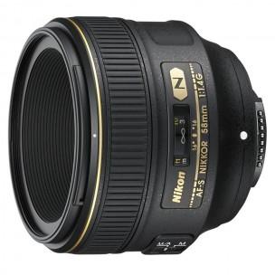 Nikon objektiv 58 mm F/1.4